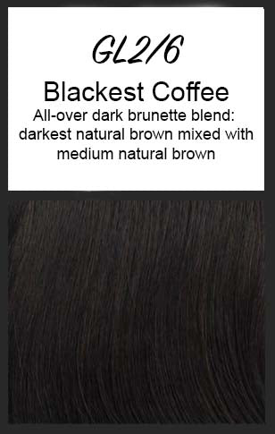 Radiant Beauty by Gabor, Color: GL2/6 (Blackest Coffee)