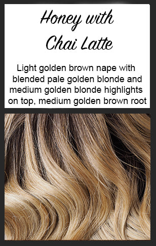 Energia by BelleTress, Color: Honey with Chai Latte