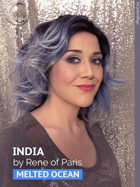 India by Rene of Paris Hi Fashion, Color: Dark Chocolate -- BEST DEAL!