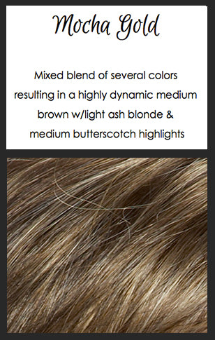Alexa by TressAllure, Color: Mocha Gold -- BEST DEAL!