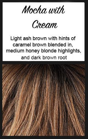 Columbia by BelleTress, Color: Mocha with Cream