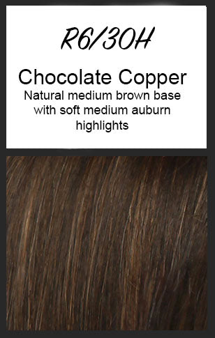 Allure by HairDo, Color: R6/30H (Chocolate Copper)