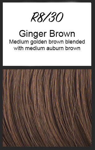 Voltage by Raquel Welch, Color: R8/30 (Ginger Brown)