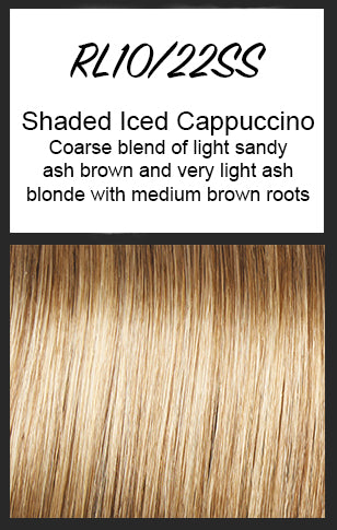 Sparkle by Raquel Welch, Color: RL10/22SS (Shaded Iced Cappuccino)