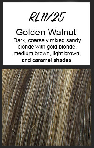 Upstage by Raquel Welch, Color: RL11/25 (Golden Walnut)