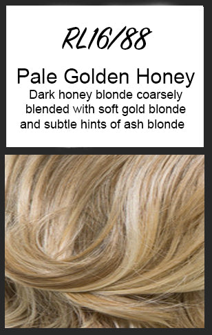 Top Billing Topper/Wiglet by Raquel Welch, Color: RL16/88 (Pale Golden Honey) -- BEST DEAL!