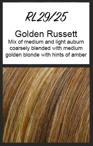 Editor's Pick by Raquel Welch, Color: RL29/25 (Golden Russett) -- BEST DEAL!