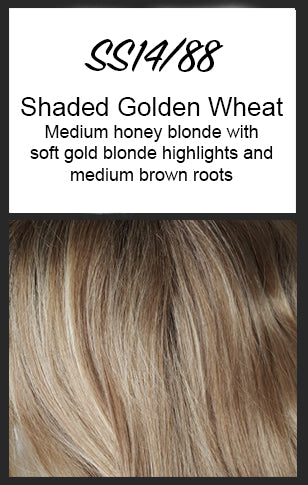 Breezy Wave Cut by HairDo, Color: SS14/88 (Shaded Golden Wheat)
