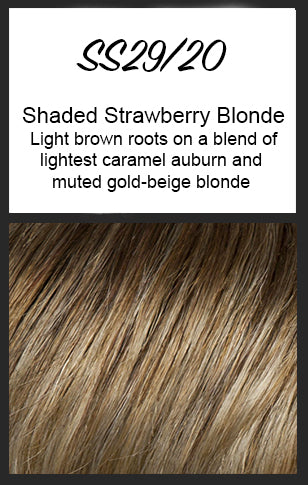 Tress by Raquel Welch, Color: SS29/20 (Shaded Strawberry Blonde)