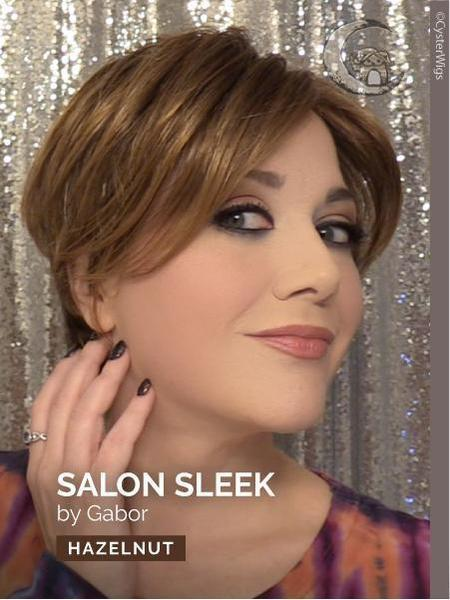 Salon Sleek by Gabor, Color: GL60/101 (Silvery Moon)