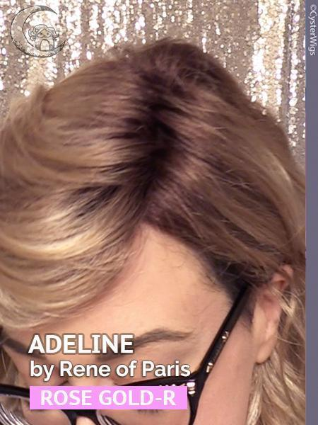 Adeline by Rene of Paris Hi Fashion in color: Rose Gold-R
