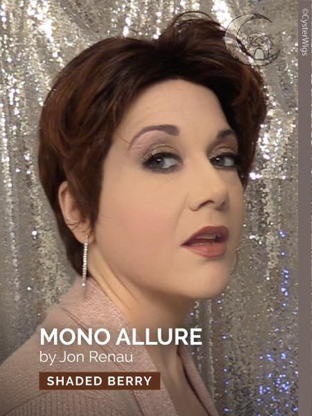 Allure Mono by Jon Renau, Color: 6/33 (Raspberry Twist)