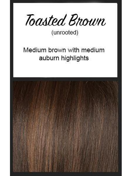 Angelica Large by Noriko, Color: Toasted Brown -- BEST DEAL!