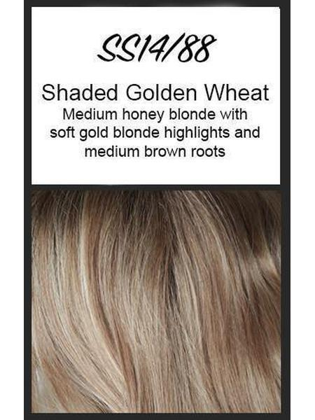 Angled Cut by HairDo, Color: SS14/88 (Shaded Golden Wheat)