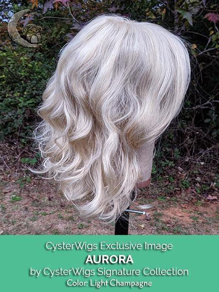 Aurora by CysterWigs Signature Collection, Color: Light Champagne