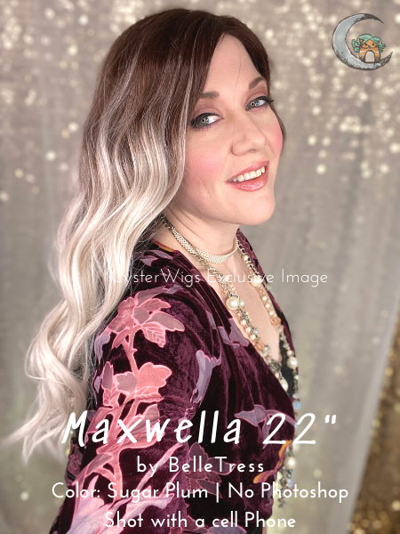 Balayage Collection | Maxwella 22 by BelleTress in color: Sugar Plum