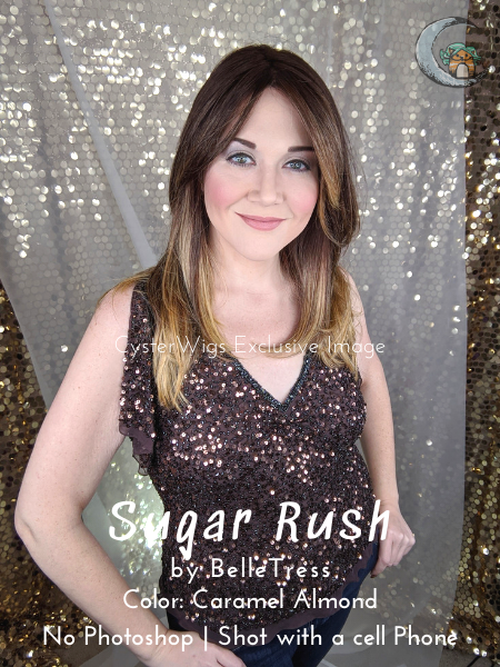 Balayage Collection | Sugar Rush by BelleTress, Color: Cinnamon Ginger