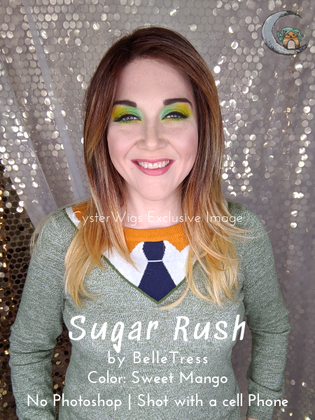 Balayage Collection | Sugar Rush by BelleTress, Color: Sweet Mango