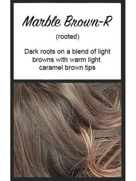 Billie by Noriko, Color: Marble Brown-R