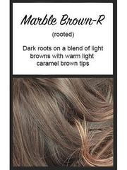 Brady by Noriko, Color: Marble Brown-R