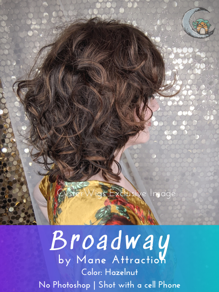 Broadway by Mane Attraction, Color: Latte