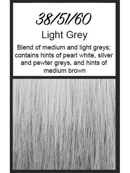 Brushed Pixie by TressAllure, Color: 38/51/60 (Light Grey)