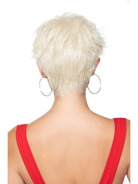 Brushed Pixie by TressAllure in color: 23R Platinum Blonde