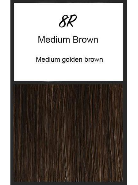 Brushed Pixie by TressAllure, Color: 8R (Medium Brown)