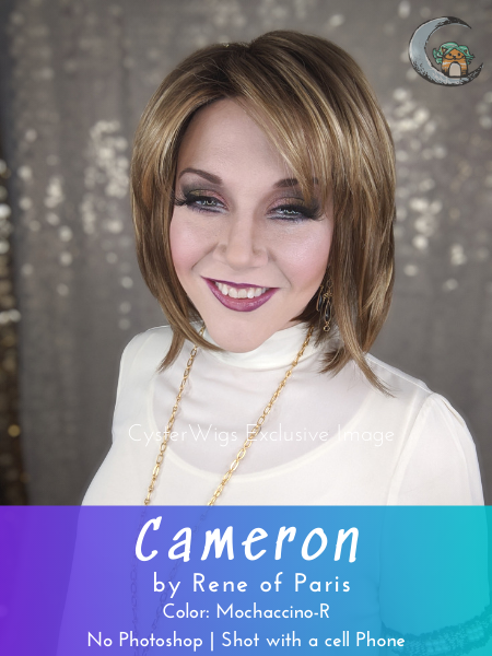 Cameron by Rene of Paris Hi Fashion, Color: Creamy Blonde