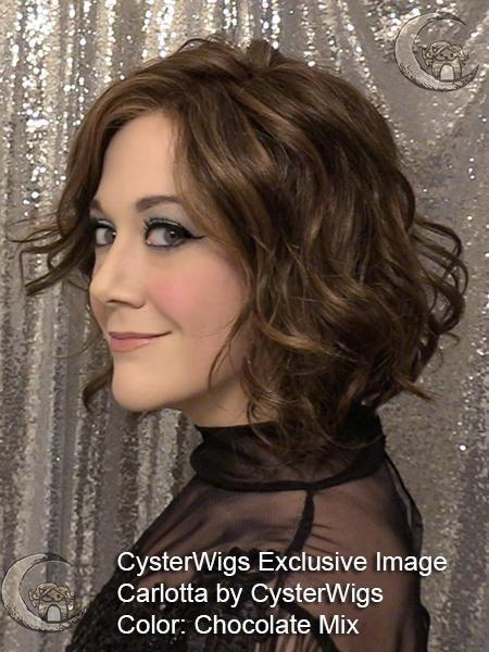Carlotta SF by CysterWigs, Color: Chocolate Mix -- BEST DEAL!