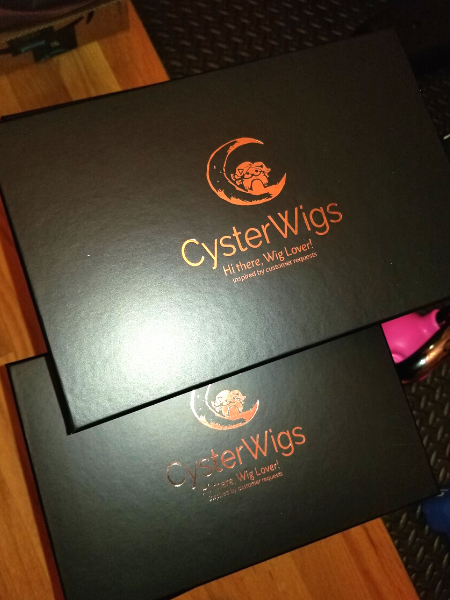 CysterWigs Brand Wig Boxes