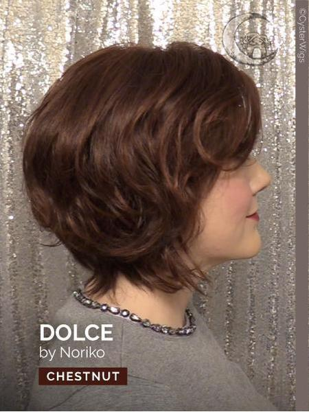 Dolce by Noriko, Color: Chestnut -- BEST DEAL!