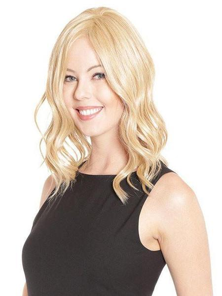 "Lace Front Mono Top Wave 14"" by BelleTress, Color: Cayenne with Ginger Root -- BEST DEAL!"