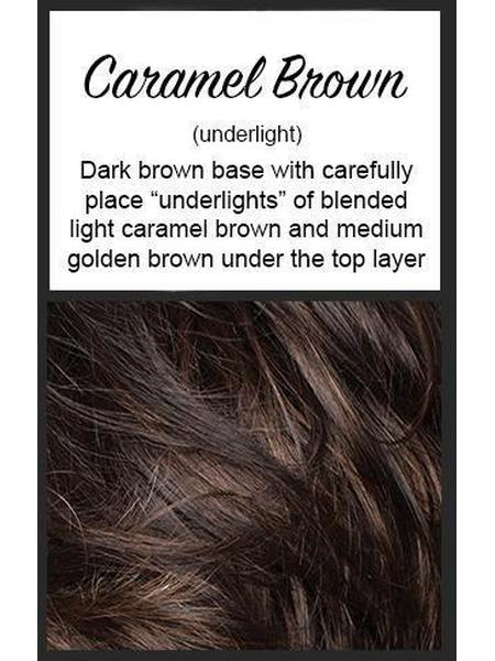 Evanna Mono by Amore, Color: Caramel Brown -- BEST DEAL!
