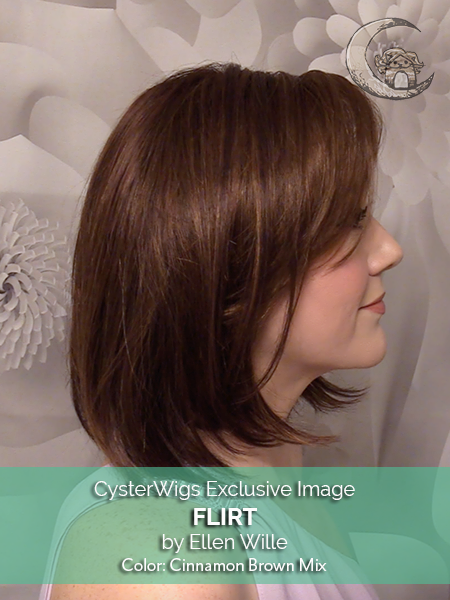 Flirt by Ellen Wille, Color: Chocolate Rooted