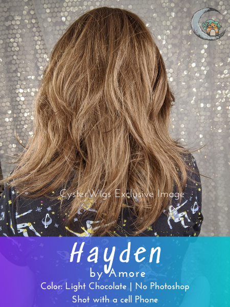 Hayden by Amore in color: Light Chocolate
