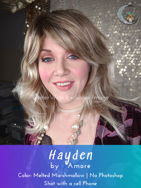 Hayden by Amore in color: Melted Marshmallow