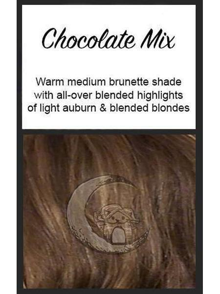Isabella Mono SF by CysterWigs EUROLINE, Color: Chocolate Mix -- BEST DEAL!