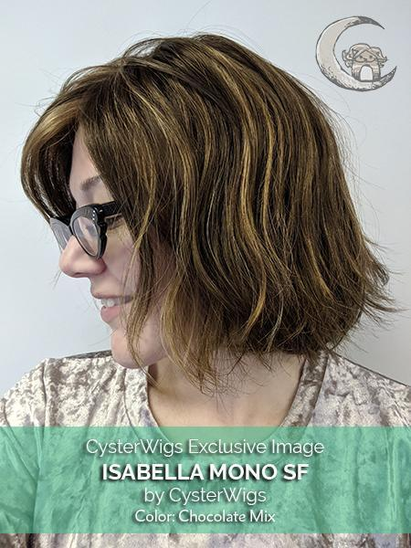 Isabella Mono SF by CysterWigs in color: Chocolate Mix
