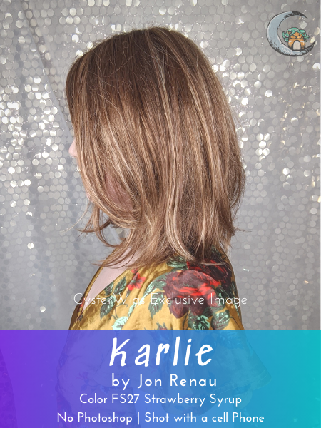 Karlie by Jon Renau, Color: 12FS8 (Shaded Praline) -- BEST DEAL!