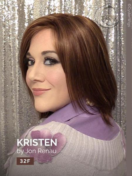 Kristen by Jon Renau, Color: 1B (Hot Fudge)