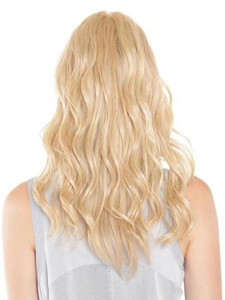 "Lace Front Mono Top Wave 18"" Topper by BelleTress in Vanilla Lush"