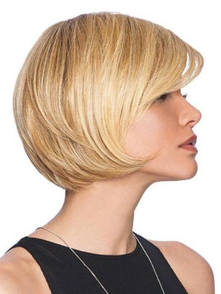 Layered Bob by HairDo, Color: SS14/88 (Shaded Golden Wheat)