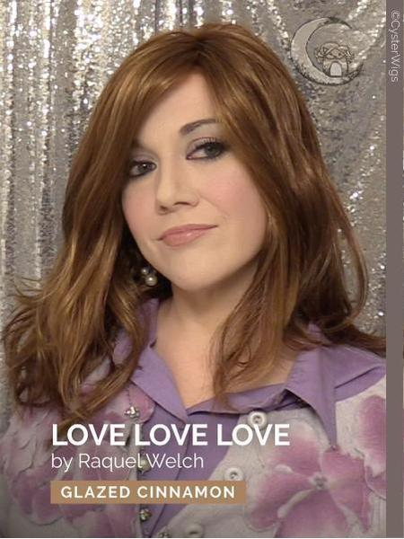 Love Love Love by Raquel Welch, Color: R10 (Chestnut) -- BEST DEAL!