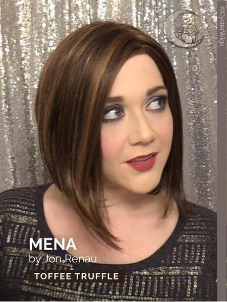 Mena by Jon Renau, Color: 22F16 (Blonde Brownie)