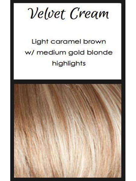 Mia by TressAllure, Color: Velvet Cream