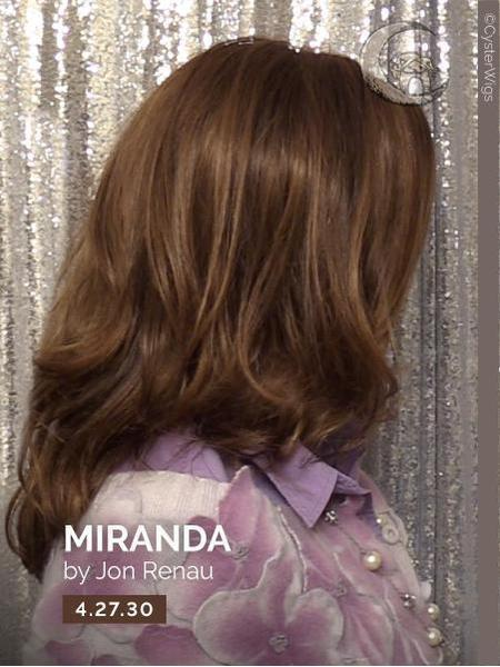 Miranda by Jon Renau, Color: 22F16 (Blonde Brownie)