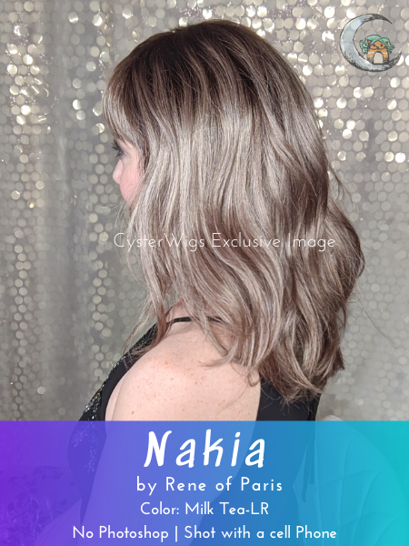 Nakia by Rene of Paris Hi Fashion, Color: Pastel Blue-R -- BEST DEAL!