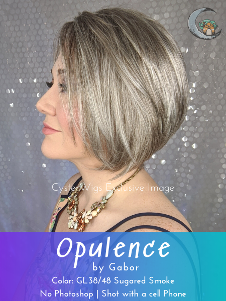 Opulence by Gabor, Color: GL44/66SS (Shaded Sugared Nickel)