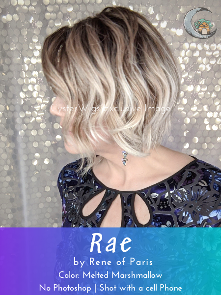 Rae by Rene of Paris Hi Fashion, Color: Marble Brown-LR